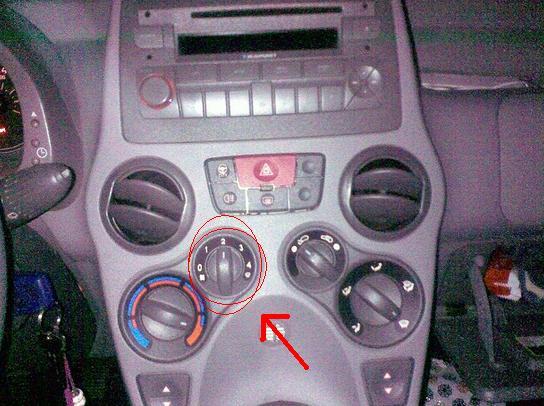 Fiat panda club nederland toon onderwerp dashboard verlichting defect - Zits verwarming ...